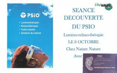 PSIO: séance découverte gratuite